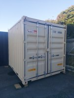 10ft New shipping container