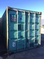 20' Shipping Container - Te Rapa
