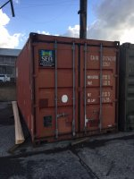 20' Shipping Container - Ngatea