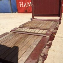 20ft Shipping Container New Zealand flat rack