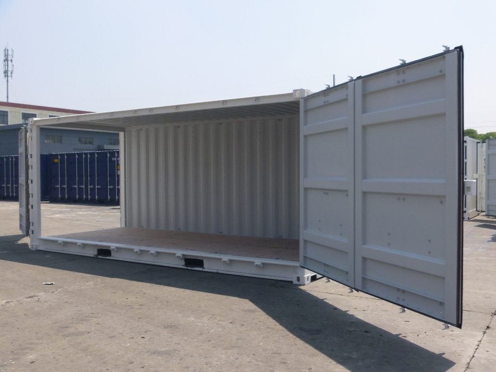 20ft Side Opening Shipping Containers - Buy New - Shipping
