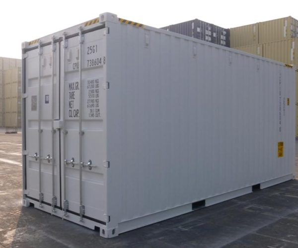 20ft Shipping Container New Zealand pallet wide