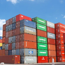 Shipping Container New Zealand stack