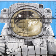 Shipping Container painted New Zealand