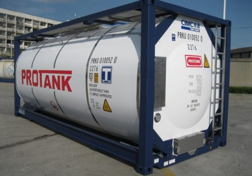 Shipping Container tank
