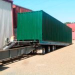Shipping Container tranport
