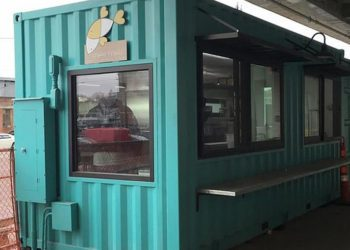 Shipping Container canteen