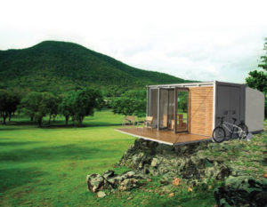 Shipping Container home offgrid