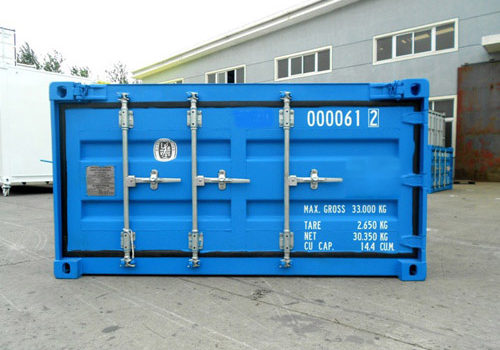 Half Height Shipping Container